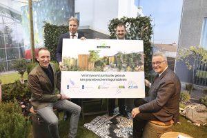 Nederland, Hazerswoude-Dorp, 09-02-2017. Foto Wiebe Kiestra Vier partijen ondertekenen de Green Deal in Hazerswoude.