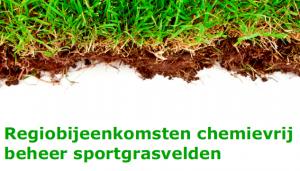 Regiobijeenkomsten chemievrij beheer sportgrasvelden